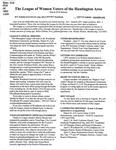 LWV Bulletin, March, 2018