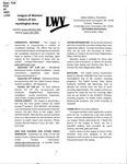 LWV Bulletin, September, 2018