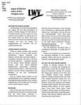 LWV Bulletin, November, 2018