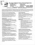 LWV Bulletin, February, 2017