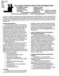 LWV Bulletin, January, 2016