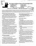 LWV Bulletin, May, 2016