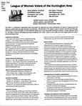 LWV Bulletin, October, 2014