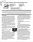LWV Bulletin, January, 2013 by League of Women Voters of the Huntington Area