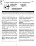 LWV Bulletin, December, 2013