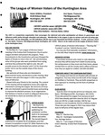 LWV Bulletin, May, 2012 by League of Women Voters of the Huntington Area
