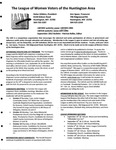 LWV Bulletin, September, 2012 by League of Women Voters of the Huntington Area