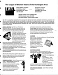 LWV Bulletin, April, 2011 by League of Women Voters of the Huntington Area