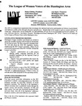 LWV Bulletin, January, 2010 by League of Women Voters of the Huntington Area