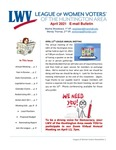 LWV Bulletin, April, 2021