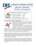 LWV Bulletin, March, 2021