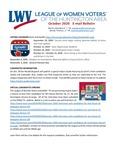 LWV Bulletin, October, 2020