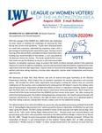 LWV Bulletin, August, 2020