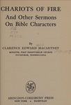 Chariots of Fire: And Other Sermons on Bible Characters