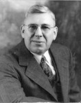 T. Smith Brewer, retiring principal, Huntington High School, 1957