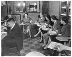 Faculty lunch at Huntington High School 1959