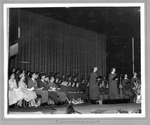 Huntington High School 1959 commencement ceremony, 1959