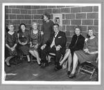 Faculty chaperones at Huntington High Ball, 1962