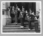Huntington High School Trumpeters, at Advertiser Building, Huntington,WVa 1963