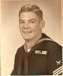 Yeoman Seaman 1st Class Mark Freeman, U.S. Navy, ca. 1953-55