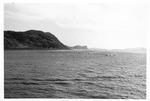 USS Trathen entering Sasebo, Japan, ca. 1955