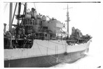 Running a life line between USS Trathen and another ship