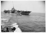 USS Valley Forge (CVS-45) aircraft carrier, ca. 1955