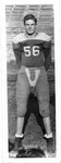 Senior Mark Freeman, Doddridge County (WVa) football team, 1952