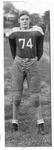 Junior Mark Freeman, Doddridge County (WVa) football team, 1949-50
