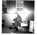 Mark Freeman moving into office of WVa State Employment Service,Oct 1967