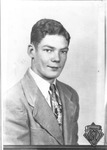 Mark Freeman high school graduation photo, 1952