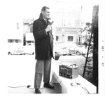 Mark Freeman giving talk for WVa State Employment Service,Dec1967