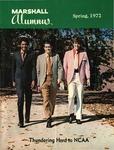 Marshall Alumnus, Vol. XII, Spring, March,1972, No. 1
