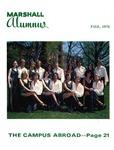 Marshall Alumnus, Vol. XIX, Fall, September, 1978, No . 2 by Marshall University