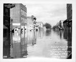 4th Ave & 11th Street, looking east, 1937 Flood, Huntington, W.Va.