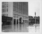 11th St & 4th Ave, looking north, , 1937 Flood, Huntington, W.Va.