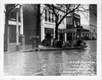 11th St between 4th & 5th Avenues, 1937 Flood, Huntington, W.Va.
