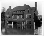 Guyandotte Club, corner of 11 St & 4th Ave, 1937 Flood, Huntington, W.Va.