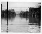 3rd St East & 4th Ave, looking south, 1937 Flood, Huntington, W.Va.