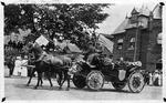 President William H. Taft in parade in Marietta, Oh., 1910