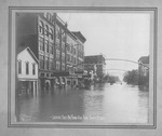 Looking E on 3rd Ave., 1913 Flood, Huntington, W.Va.