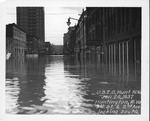 9th Street & 2nd Ave, looking south, 1937 Flood, Huntington, W.Va.
