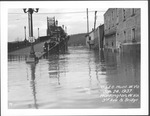 3rd Ave & 6th St. Bridge, 1937 Flood, Huntington, W.Va.