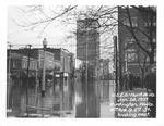 4th Ave & 8th St., 1937 Flood, Huntington, W.Va.