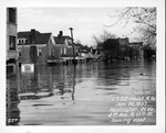 4th Ave & 15th St, looking east, 1937 Flood, Huntington, W.Va.