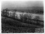 East end from 28th Street facing northwest, 1937 Flood, Huntington, W.Va.