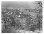 East end from 28th St. Hill, 1937 Flood, Huntington, W.Va.