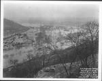 International Nickel Plant from 28th St. Hill, 1937 Flood, Huntington, W.Va.