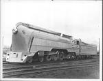 C&O RR Engine No. 490 with tender