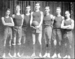 1st Presbyterian Church basketball team, Huntington, W.Va.